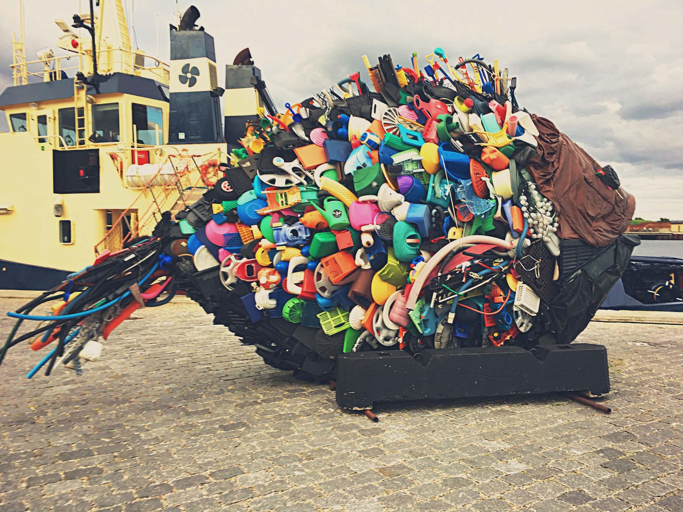 Garbage fish
