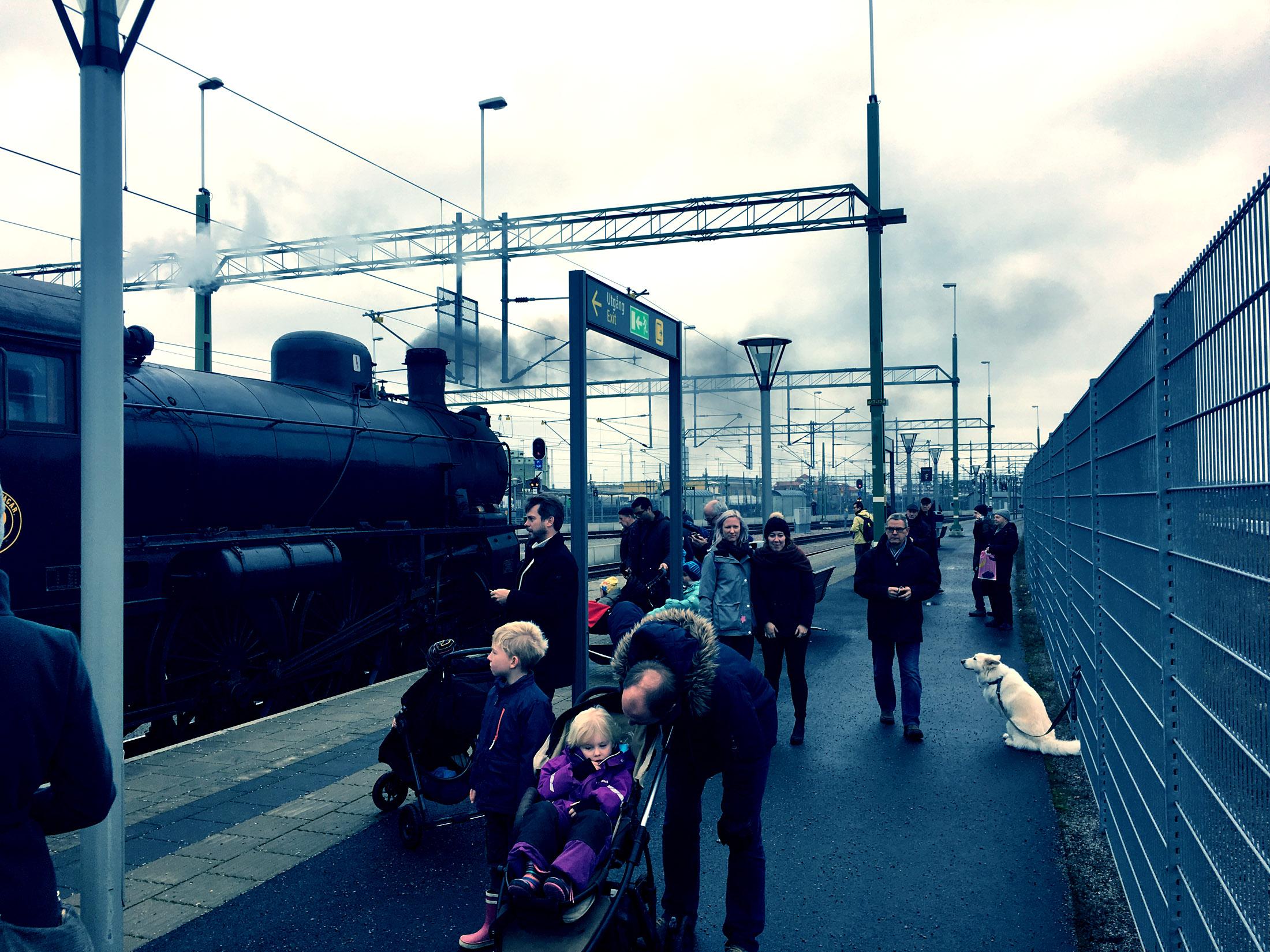 Jultåg till Malmö från Ängelholm 2016