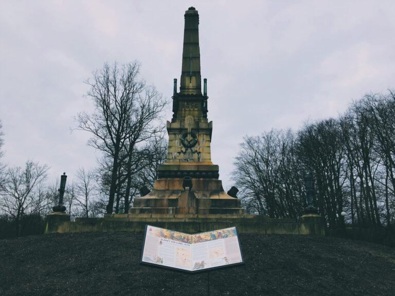 Monument Slaget vid Lund