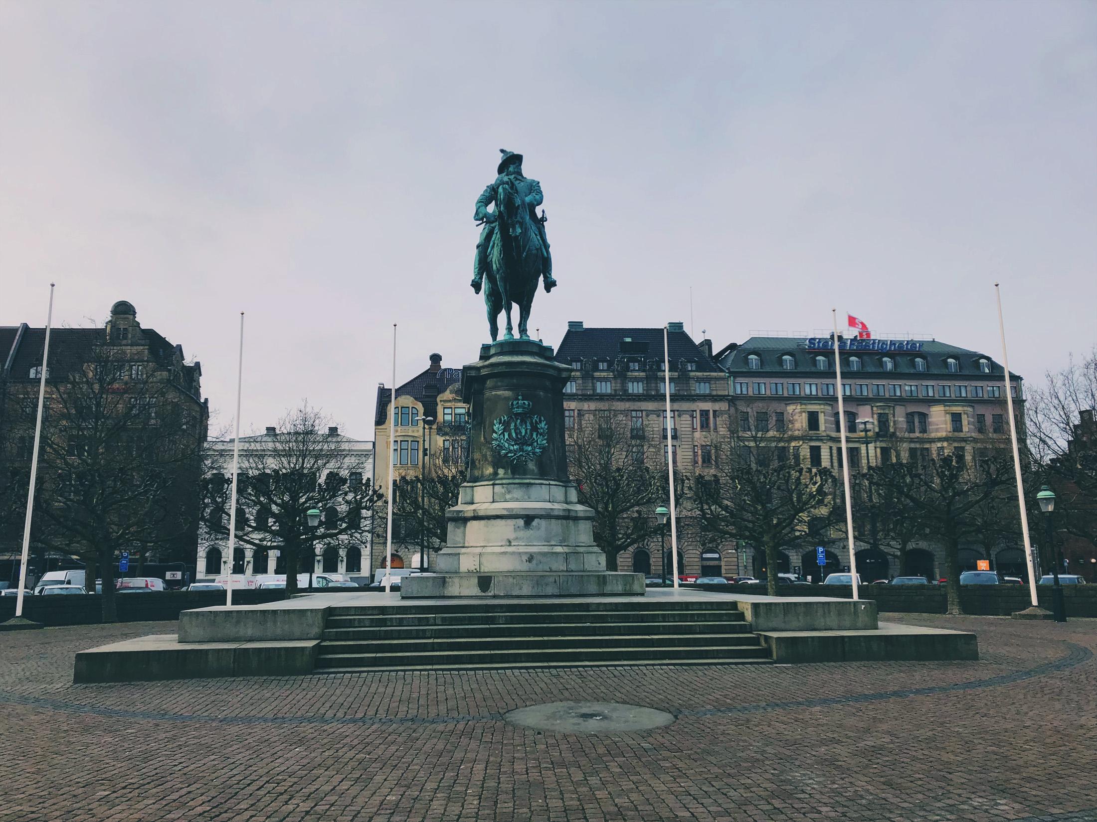 Charles X Gustav of Sweden monument