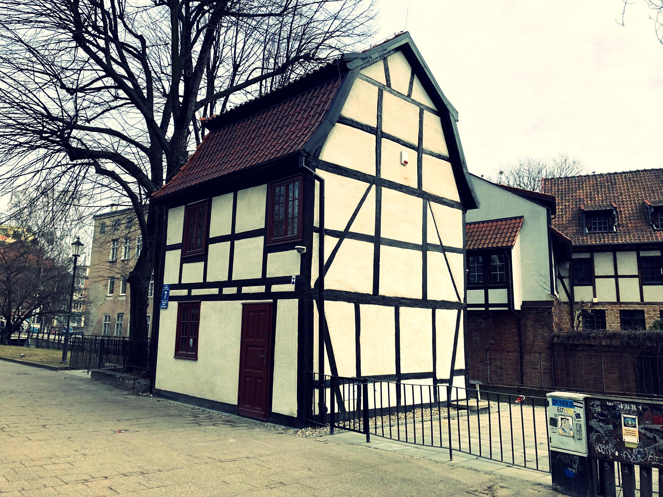 Dom o konstrukcji szkieletowej