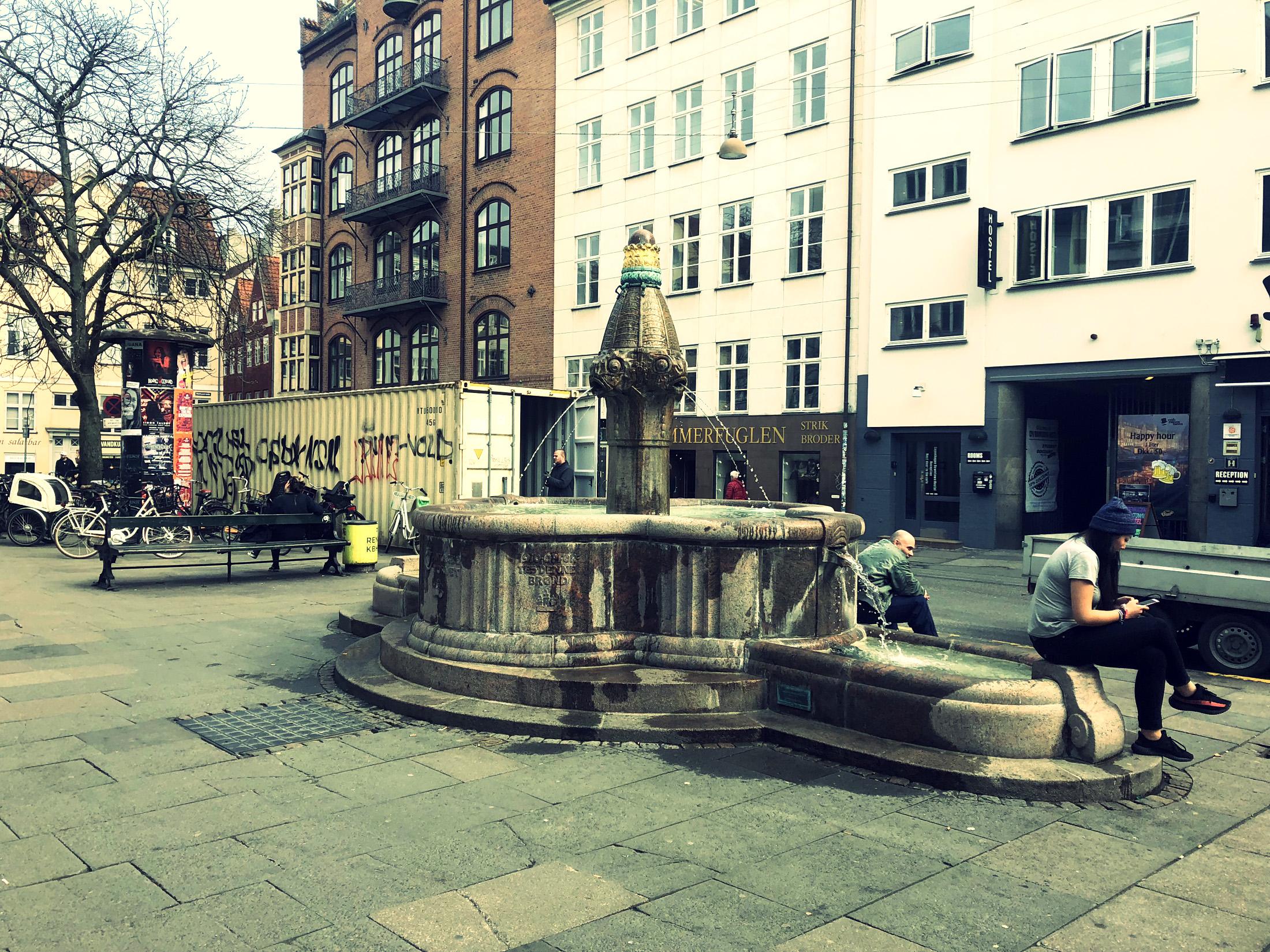 Vandkunsten Fountain