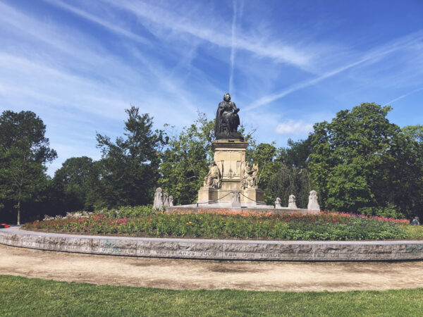 Statue Of Joost Van Den Vondel