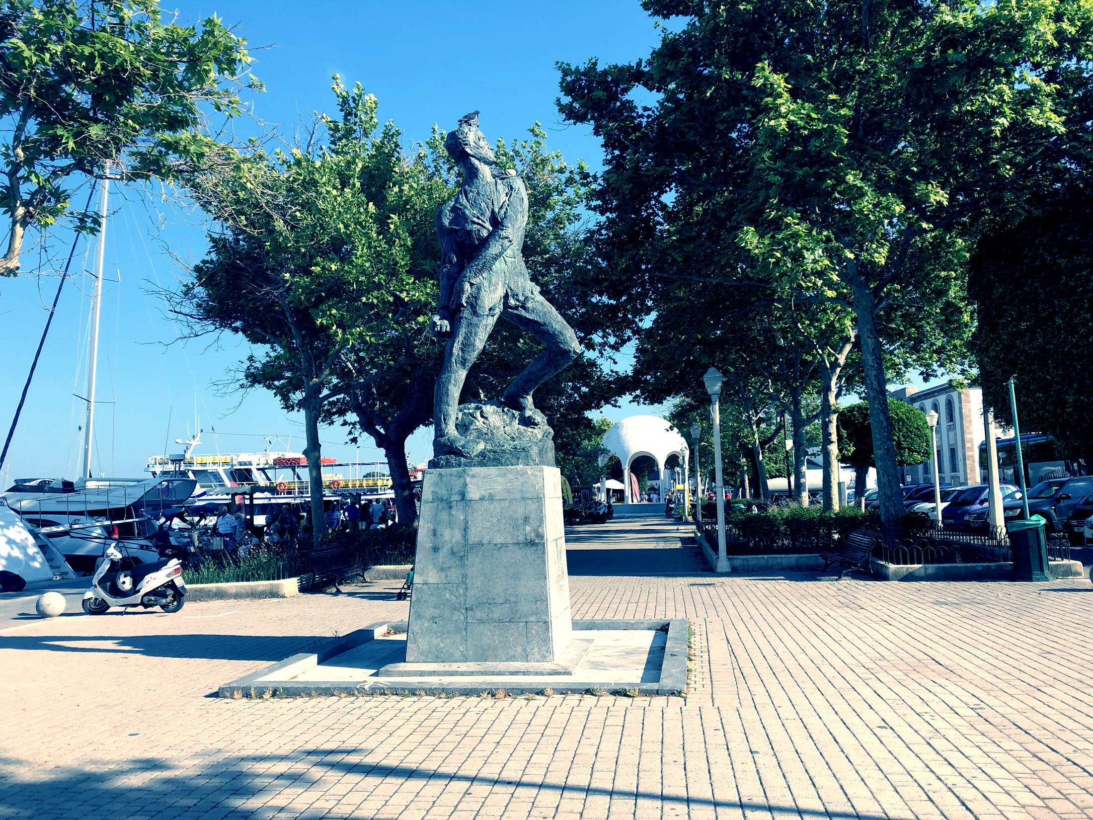 Monument Alexandros Diakos