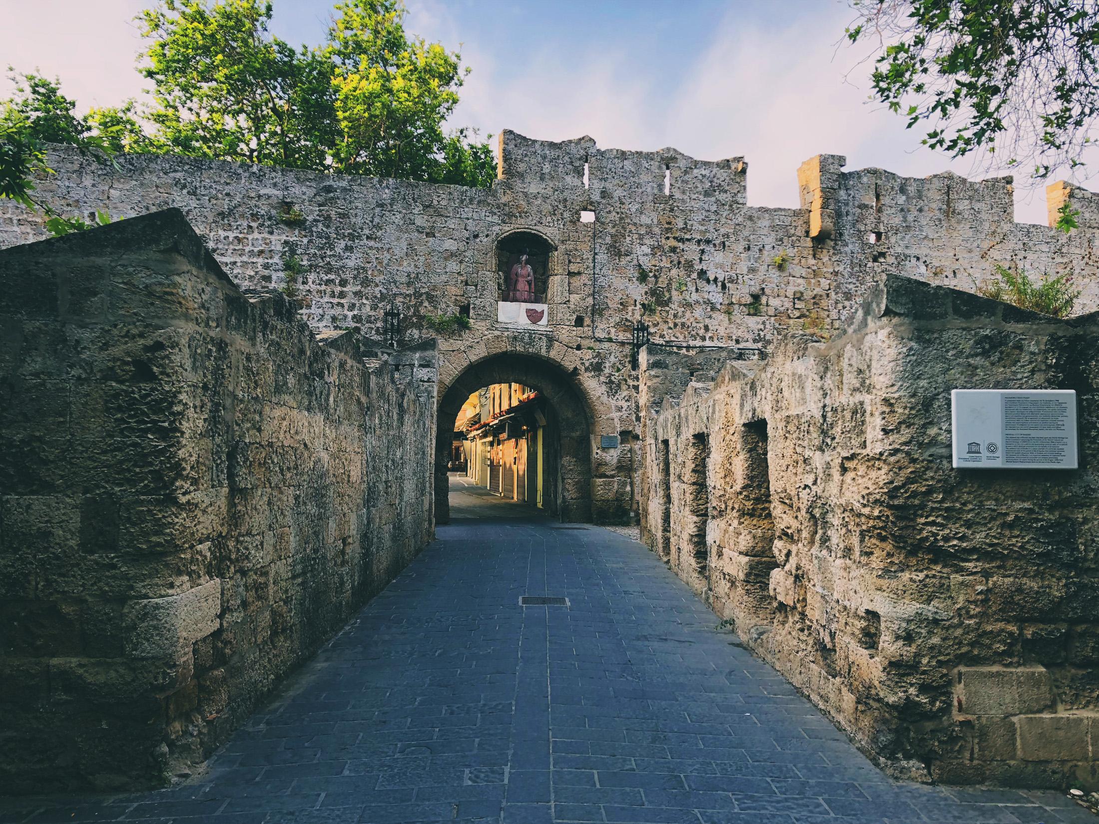 Gate of St Antonios