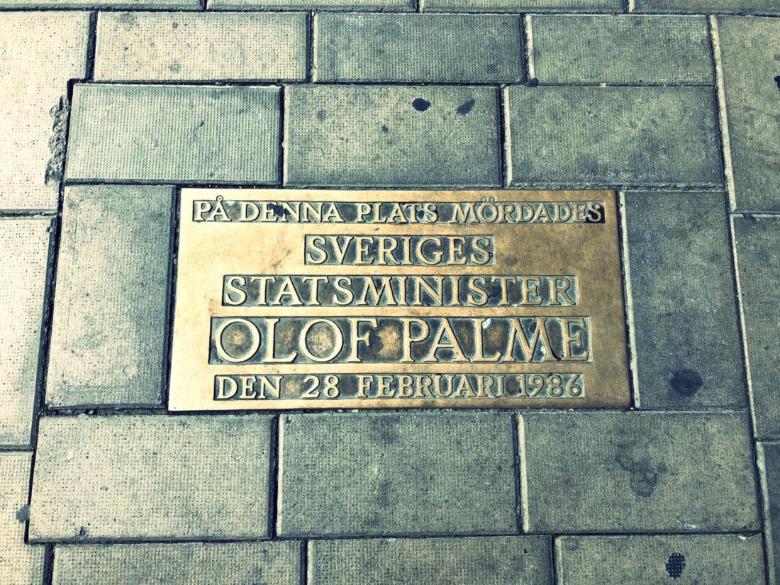 Olof Palmes minnesplats
