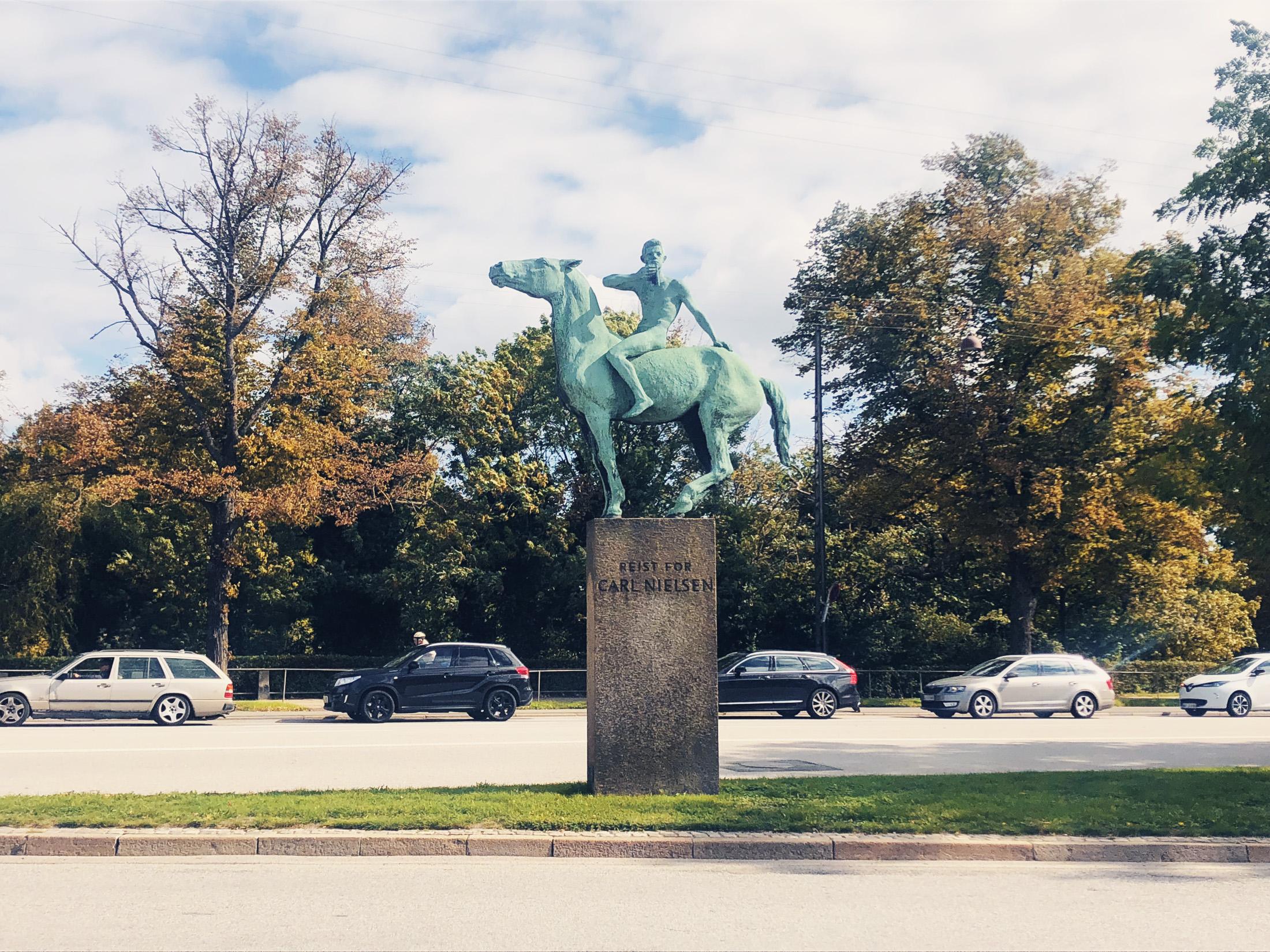 Carl Nielsen statuen