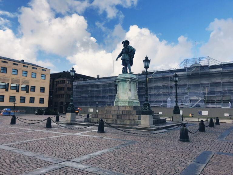 Gustav II Adolfs staty