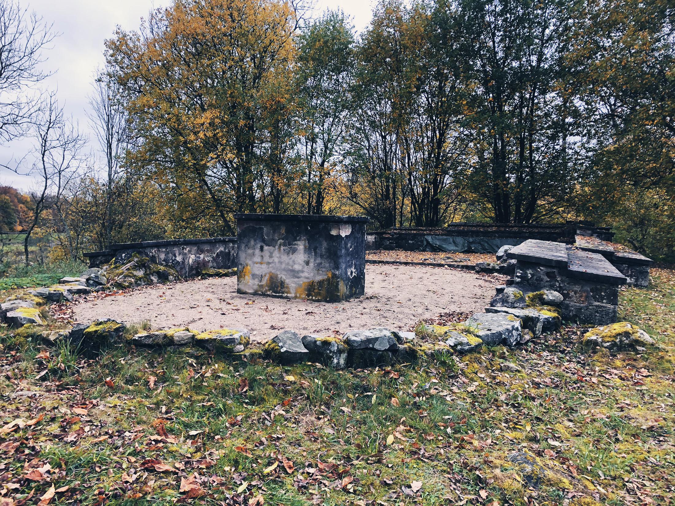 Tjörnarps gamla kyrkoruin