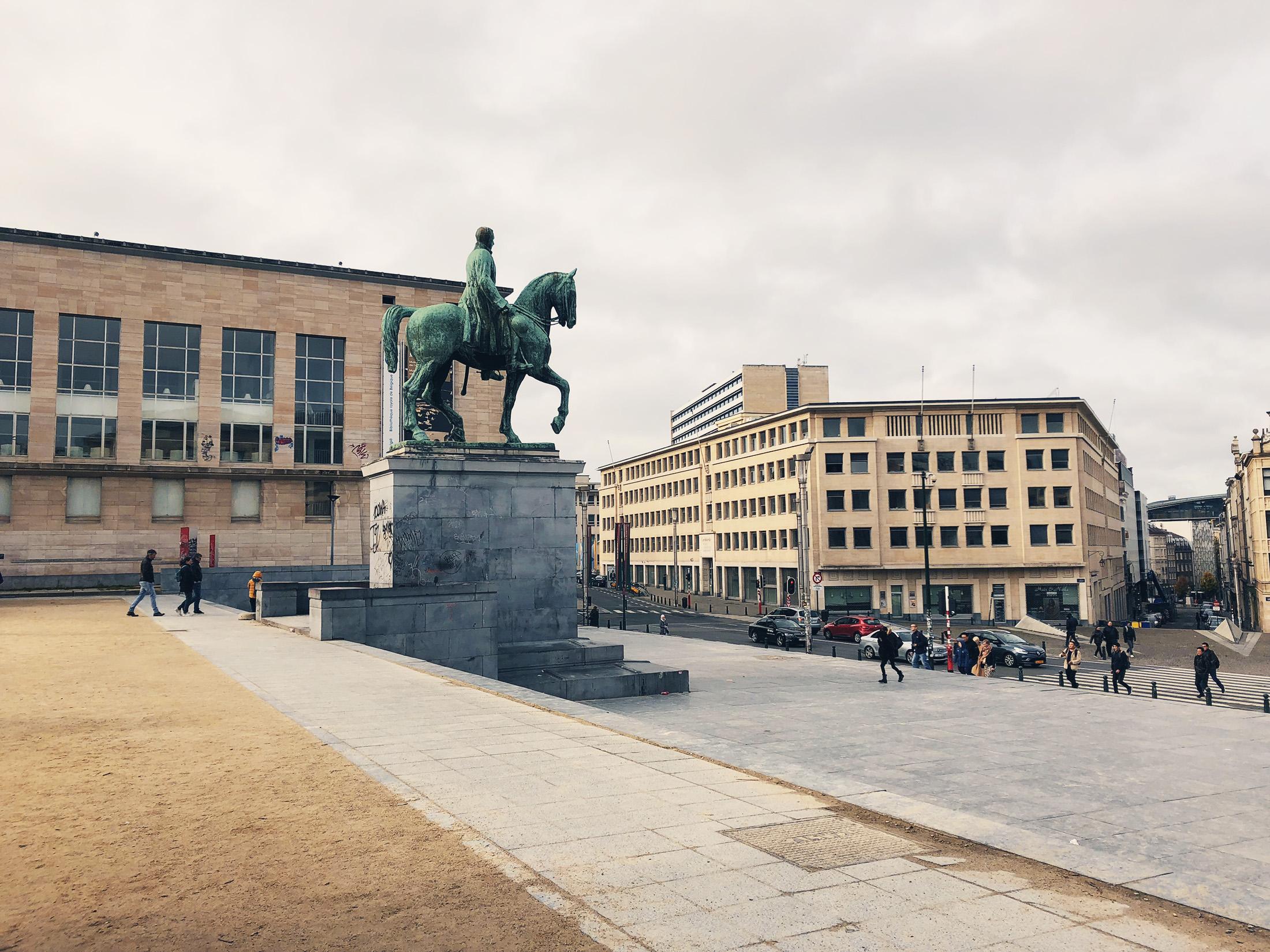 Statue du Roi Albert 1er