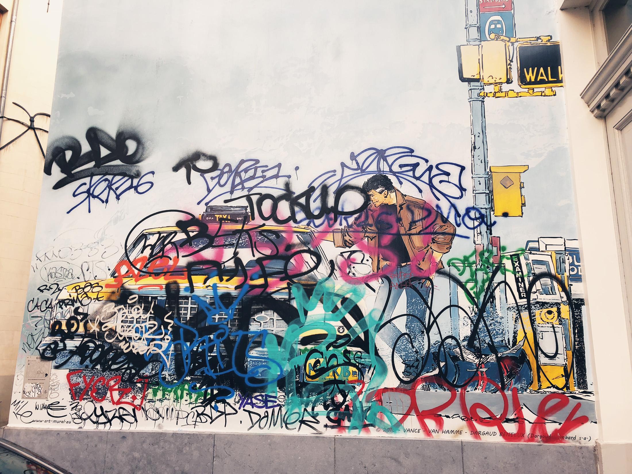 Le Mur BD de XIII