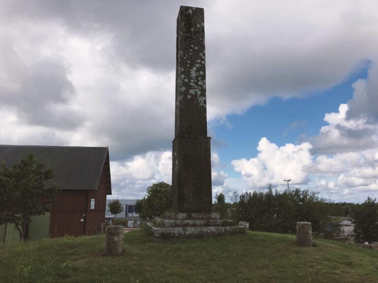 Minnesmonument Slaget vid Halmstad