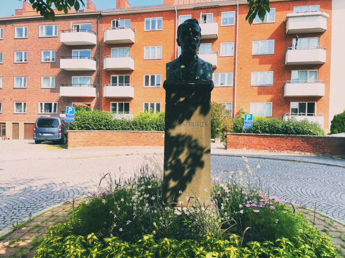 Carl von Feilitzens byst