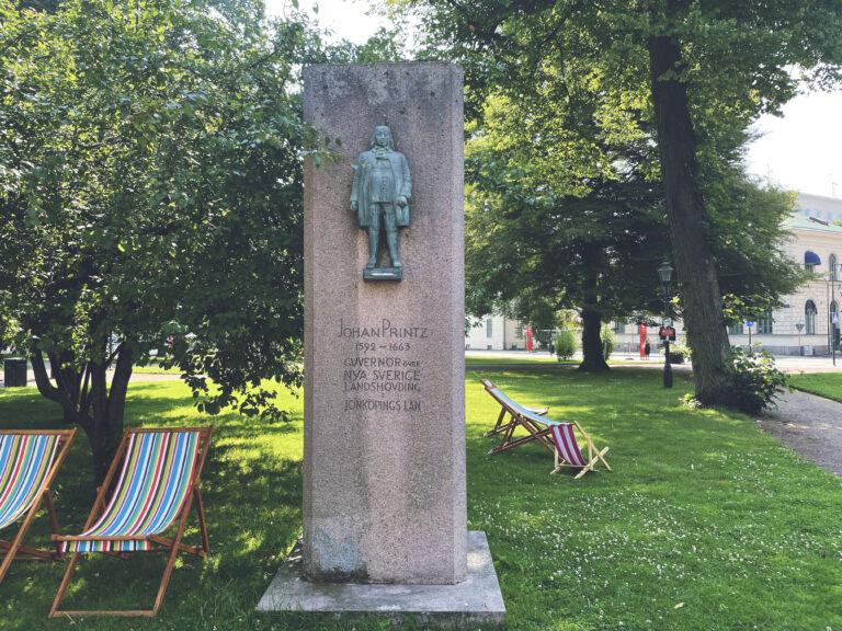 Minnesmärke över Johan Printz